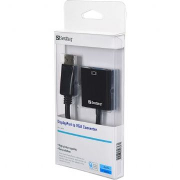 Sandberg DisplayPort Male to VGA Female Converter Cable